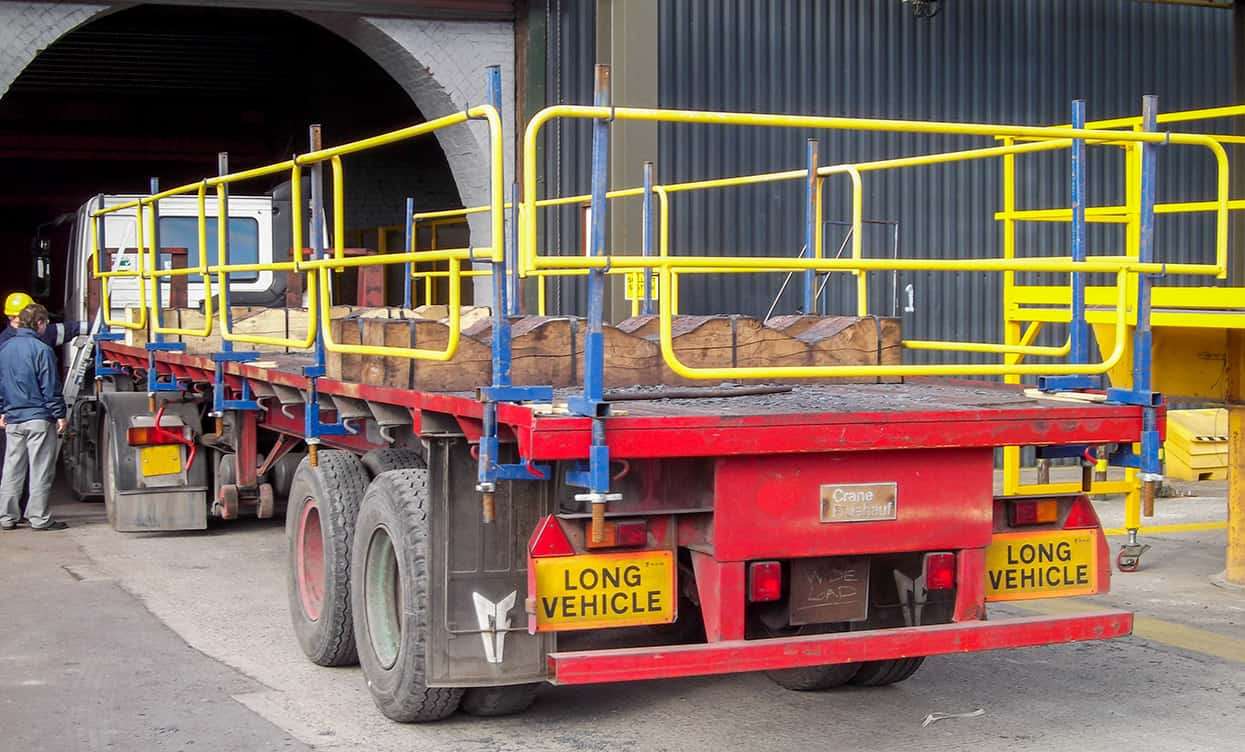 Trailer Safety : Trailer guard j safe ltd temporary edge protection systems