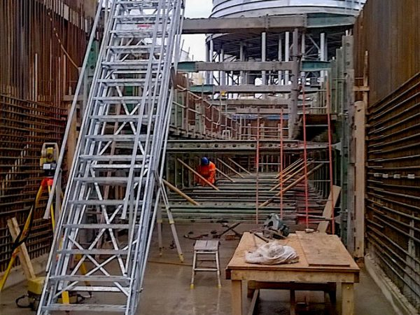 Adjustable Site Stairs J Safe Ltd Temporary Leading