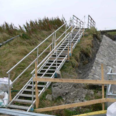 j safe embankment stairs