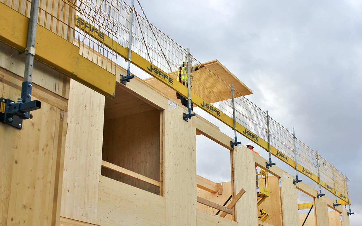 Timber Frame J Safe Ltd Temporary Leading Edge