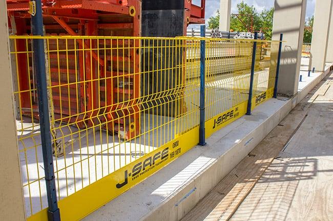Reinforced Concrete Frame J Safe Ltd Temporary Edge
