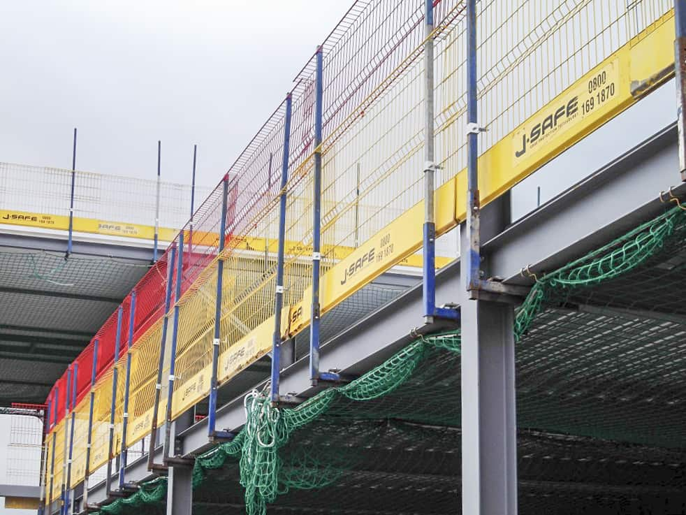 Steel Structures J Safe Ltd Temporary Edge Protection