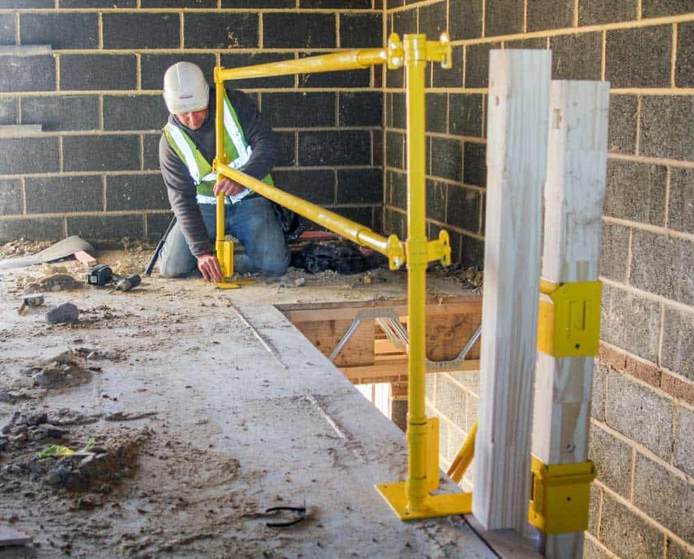 Stair Safe J Safe Ltd Temporary Leading Edge