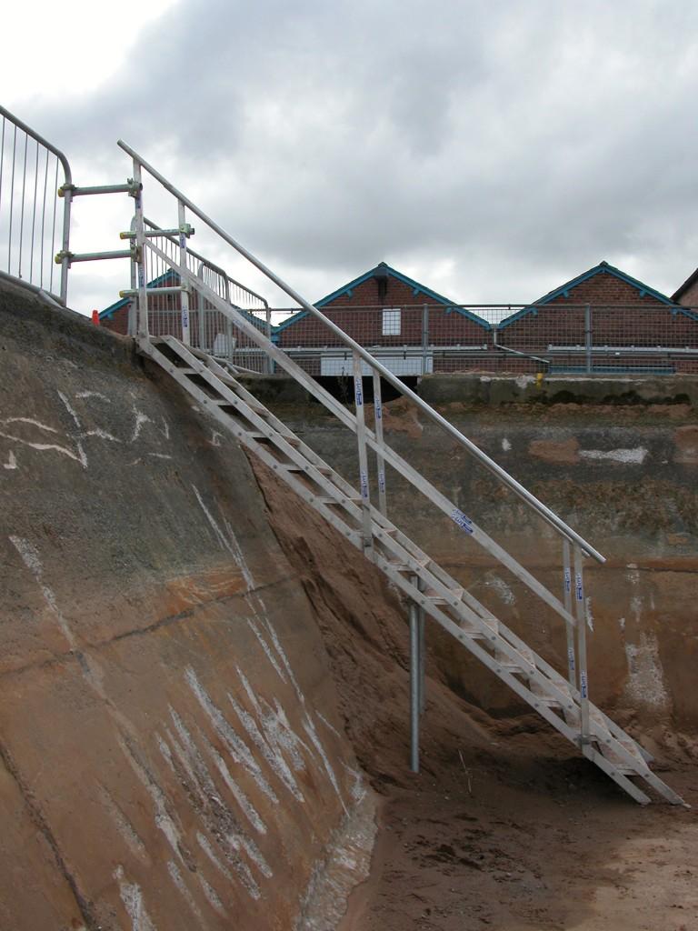 Site Stairs Amp Embankments J Safe Ltd Temporary Edge
