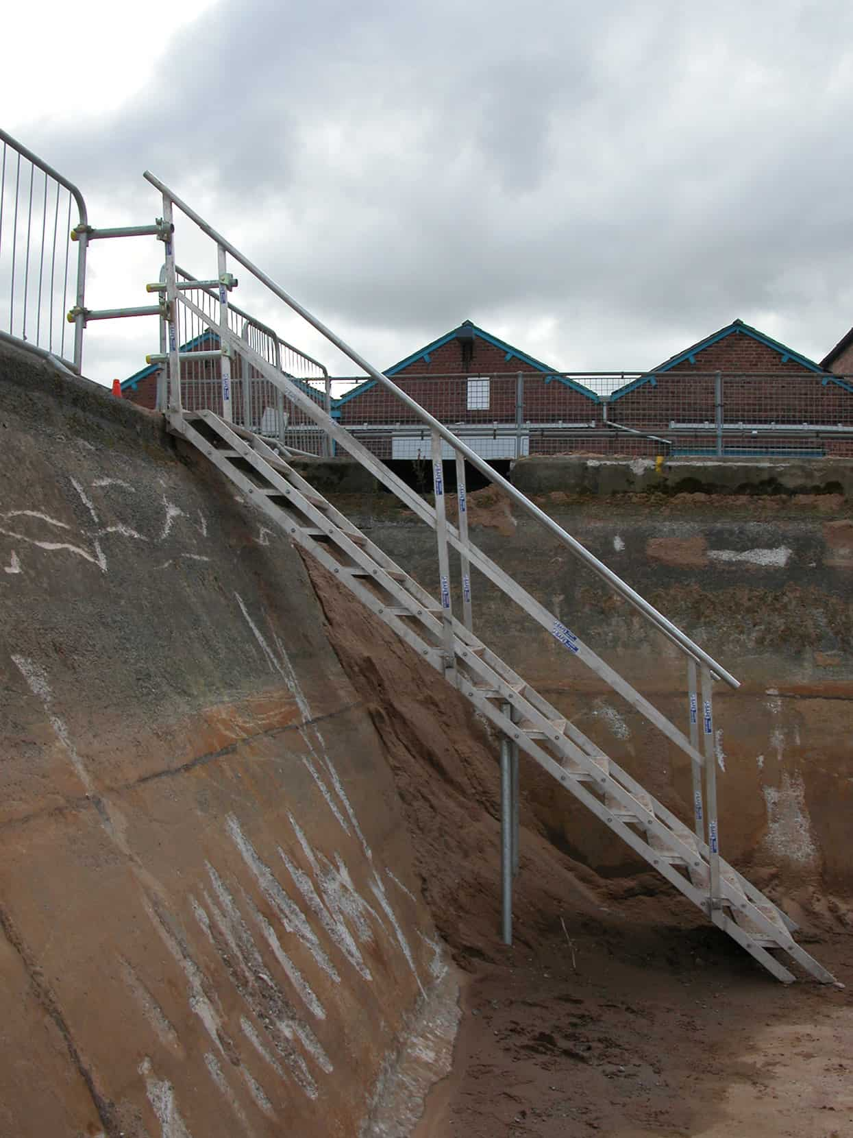 Site Stairs Amp Embankments J Safe Ltd Temporary Leading