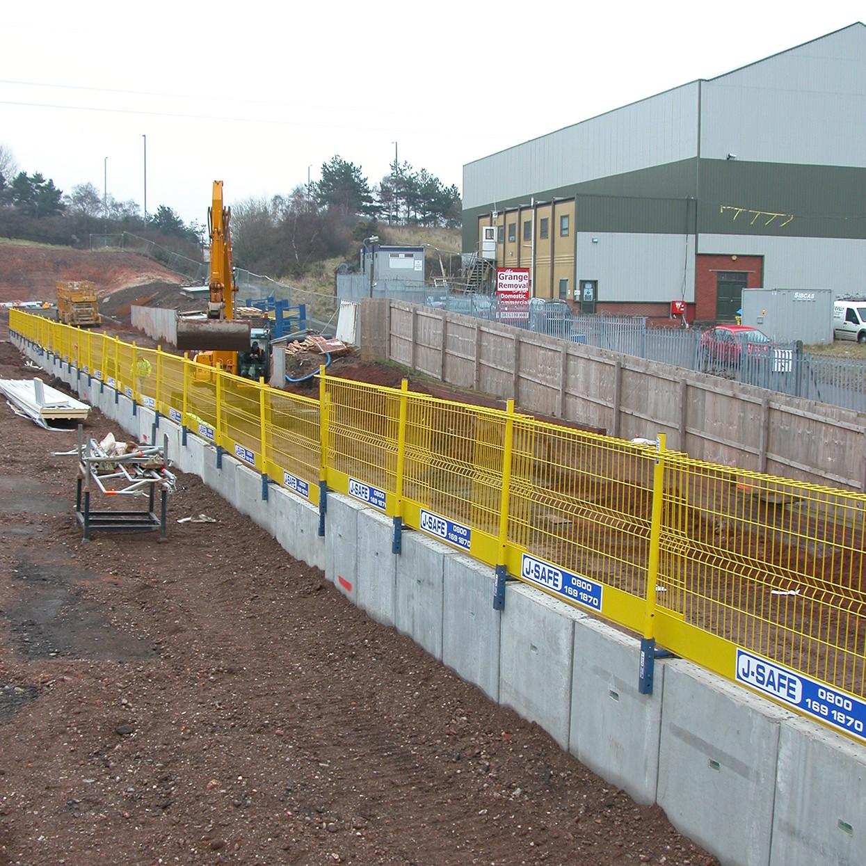 Walls Amp Shafts J Safe Ltd Temporary Edge Protection