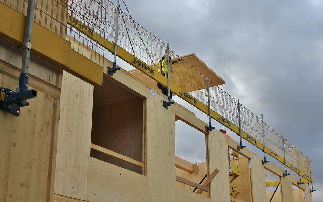Timber Frame J Safe Ltd Temporary Edge Protection Systems