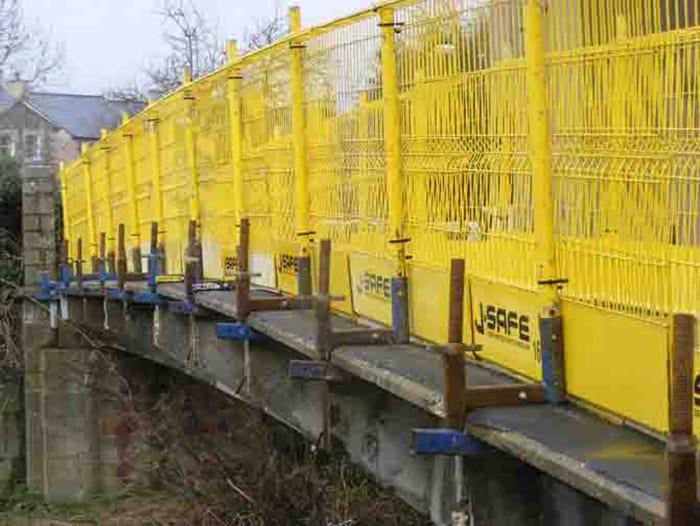 Bridges J Safe Ltd Temporary Edge Protection Systems