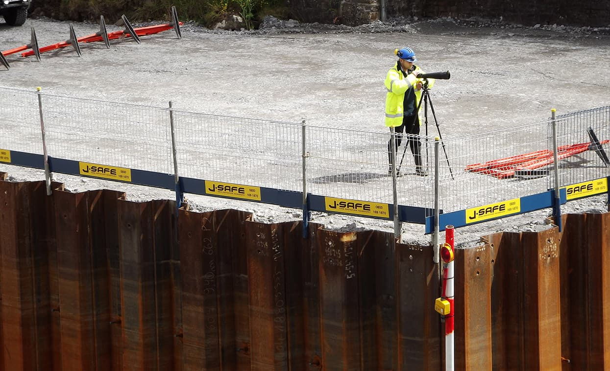 Excavations J Safe Ltd Temporary Leading Edge