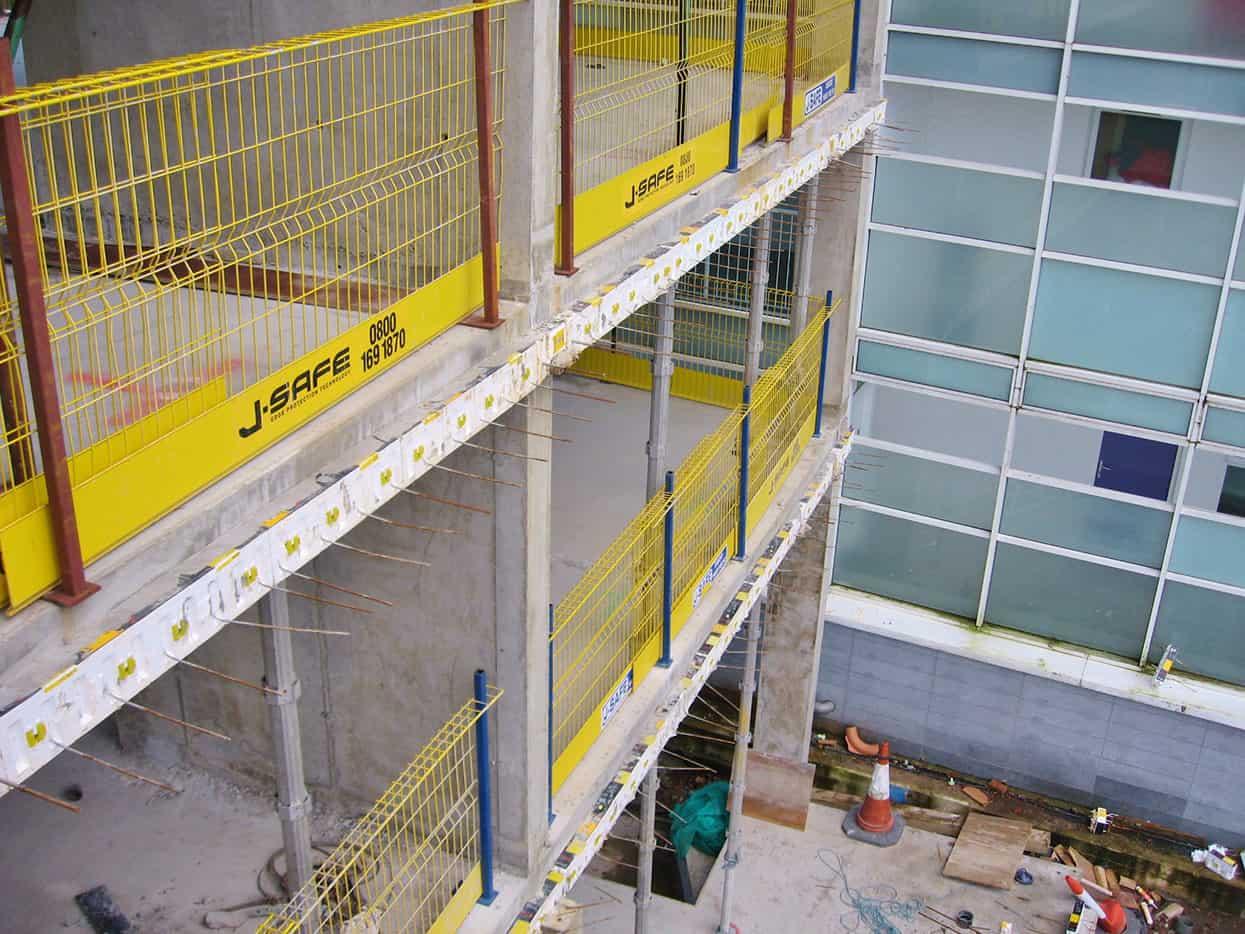 R C Frame J Safe Ltd Temporary Edge Protection Systems