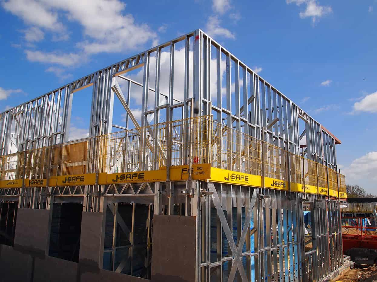 Modular Structures J Safe Ltd Temporary Leading Edge