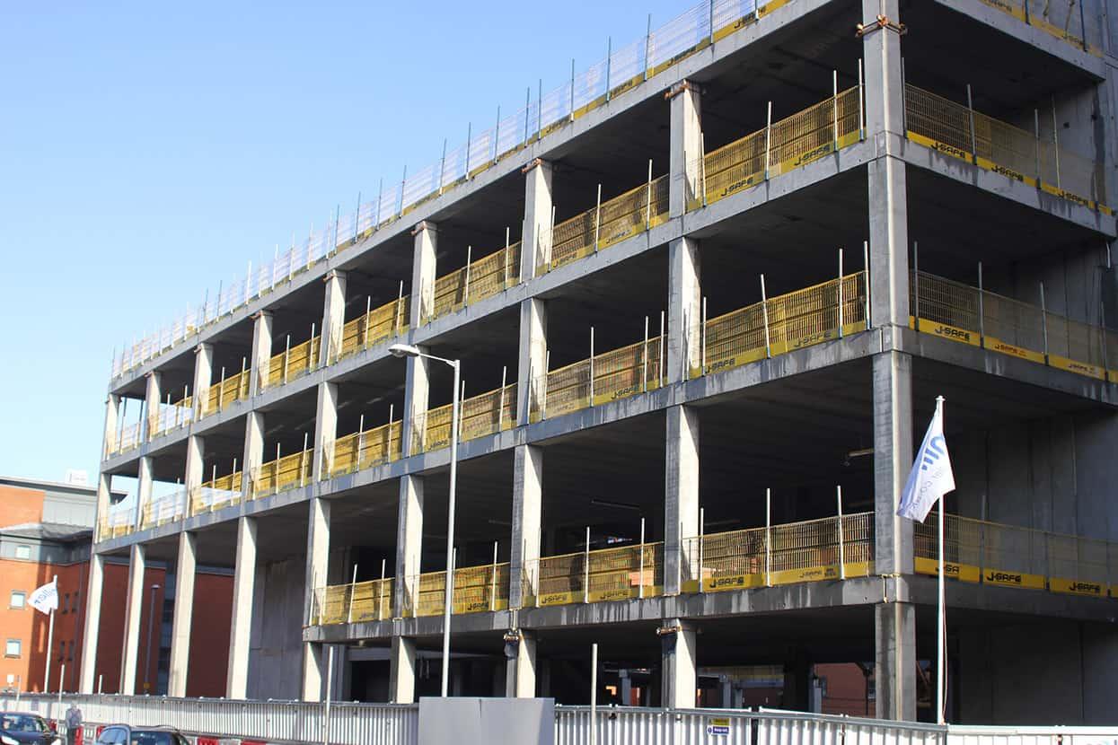 Precast Concrete J Safe Ltd Temporary Edge Protection