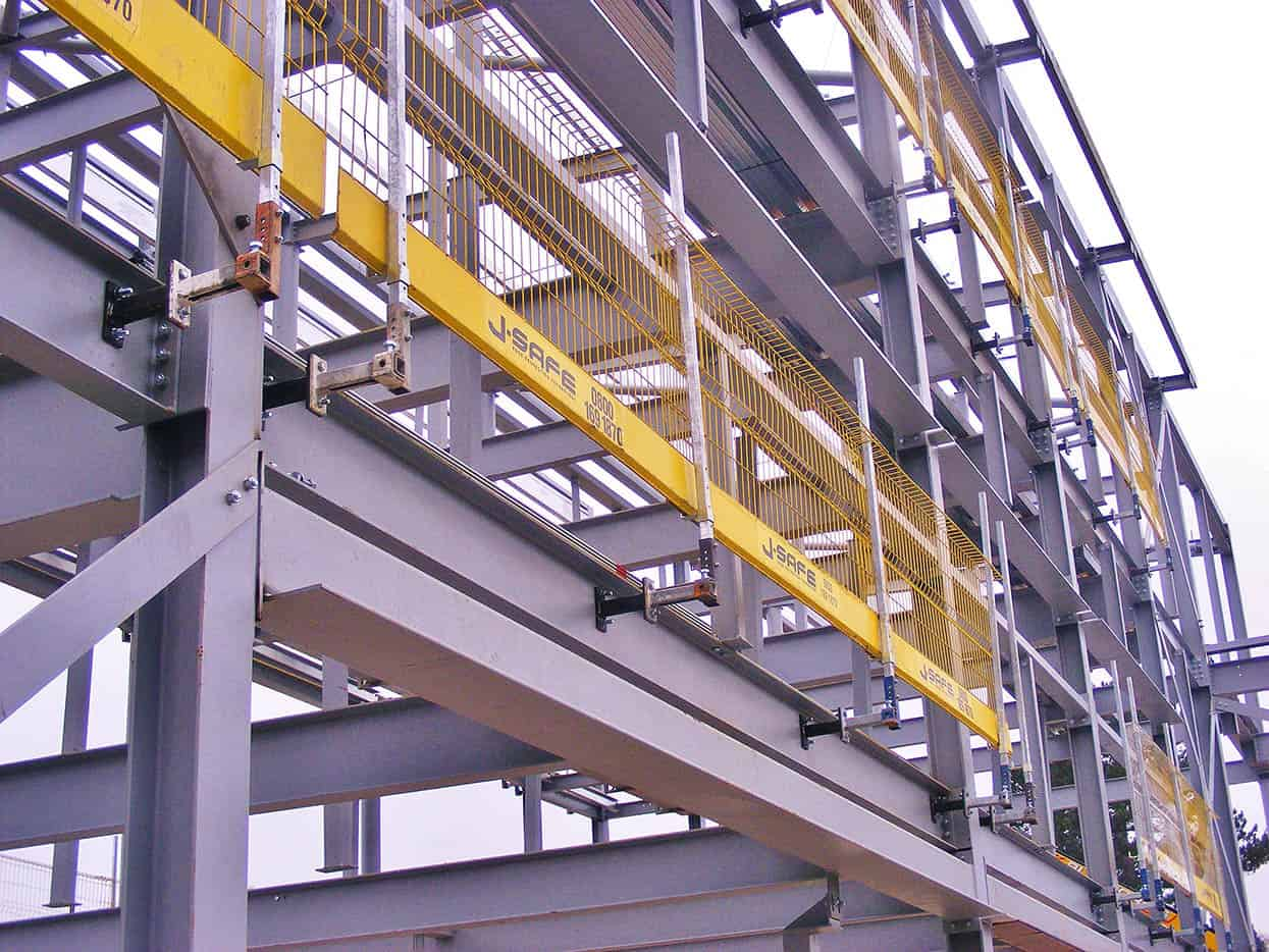 Steelsafe J Safe Ltd Temporary Edge Protection Systems