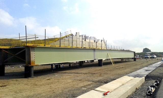 j safe edge protection_steel bridge beams