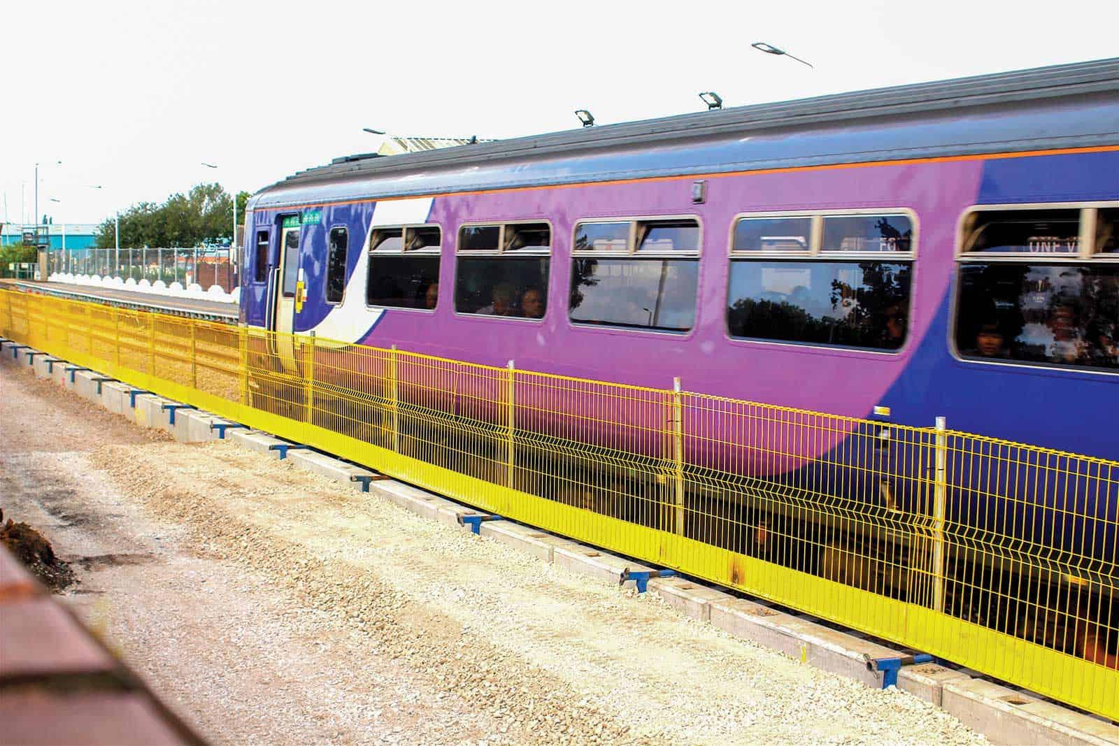 Rail Infrastructure J Safe Ltd Temporary Leading Edge